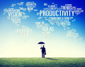 Productivity Mission Strategy Business World Vision Concept Royalty Free Stock Photo
