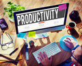 Productivity Production Capacity Efficiency Concept Royalty Free Stock Photo