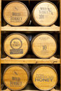 Products of Wild Turkey Bourbon Distillery Stock Photo