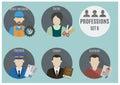 Profession people. Set 6