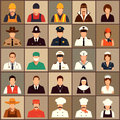 Profession people vector icon workers cartoon vector illustration Stock Images
