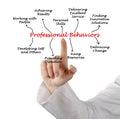 Professional Behaviors Royalty Free Stock Photo