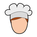 Professional chef avatar character