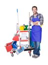 Professional cleaning service Royalty Free Stock Photo