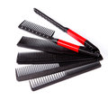 Professional combs Royalty Free Stock Photo