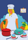 Professional cook Royalty Free Stock Photo