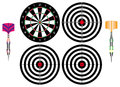 Professional darts Royalty Free Stock Photos