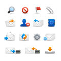 Professional e-mail Icons - Set 3 of 3 Stock Photo