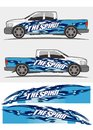 Truck and vehicle decal Graphics Kits design