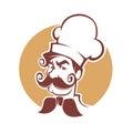 Professional Man Chef