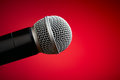 Professional microphone Stock Photography