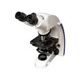 Professional microscope. Royalty Free Stock Photo