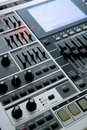 Professional Music Workstation Royalty Free Stock Photo