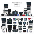 Professional photo cameras