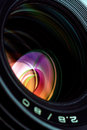 Professional photo lens closeup 2 Royalty Free Stock Photo