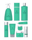 Professional Series Cosmetic Set . Vector Royalty Free Stock Photo