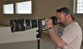 Profesionální sportovní fotograf