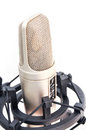 Professional studio microphone isolate on white background Stock Images