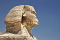 Profile of the Great Sphinx in Giza, Egypt Royalty Free Stock Photo