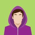 Profile icon male avatar portrait casual person Royalty Free Stock Photo