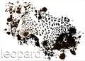 Profile Leopard Ink smudges.