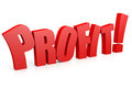 PROFIT 3D text. Stock Photography