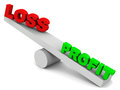 Profit or loss Royalty Free Stock Photo