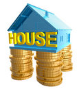 Profitable home investment icon Stock Photo