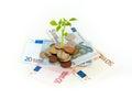 Profitable investment Royalty Free Stock Photo