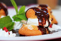 Profiteroles Royalty Free Stock Photography