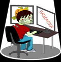 Programmer vector this is file of eps format Stock Photos