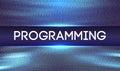 Programming code abstract technology background.Web Developer .Abstract Computer Script.Program Code. Vector