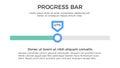 Progress Bar Infographic Element