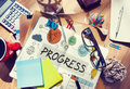 Progress development growth innovation advancement concept Stock Photos