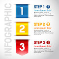Progress steps for tutorial product choice or user manual vector Royalty Free Stock Image
