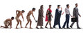 The progression of man mankind from ancient to modern