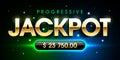 Progressive Jackpot Royalty Free Stock Photo