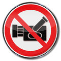 Prohibition for filming