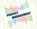 Project management concept Stock Photos