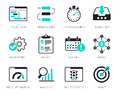 Project Management icons set
