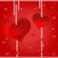 Projeto da imagem de fundo do coração Fotografia de Stock