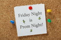 Prom Night Reminder Royalty Free Stock Photo