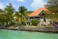 Promenade in Bequia, Caribbean Royalty Free Stock Photo