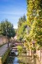 Promenade des petits ponts in chevreuse france x small bridges x Stock Photo