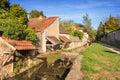 Promenade des petits ponts in chevreuse france x small bridges x Stock Photography