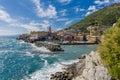 The Promenade of Nervi Royalty Free Stock Photo