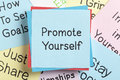Promote Yourself Royalty Free Stock Photo