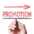 Promotion Royalty Free Stock Photo