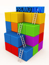 Promotion level laddar Royalty Free Stock Photos