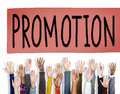 Promotion marketing commercial advertising reward concept Stock Image